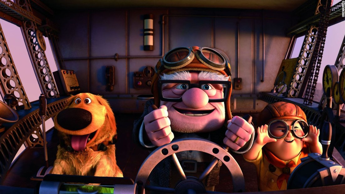 A grumpy old man ties thousands of helium balloons to his house and flies away to South America to realize a long-held dream. Huh? Another oddball premise, another big hit -- and the first Pixar movie to be nominated for a best picture Oscar. A wordless montage early in the film traced the lifelong love of Carl and Ellie, reducing many moviegoers to tears. Worldwide box office: $731 million.