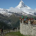 Sunnegga station restaurant Zermatt Switzerland