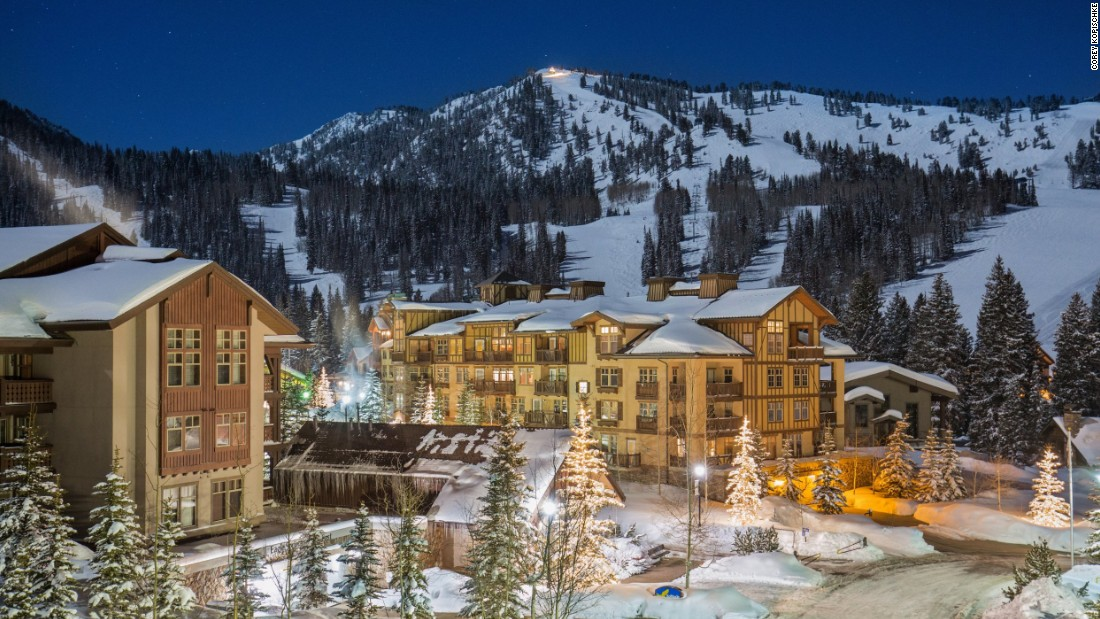 The mountain-fringed Solitude resort is known for its fine slopes -- and its fine dining.
