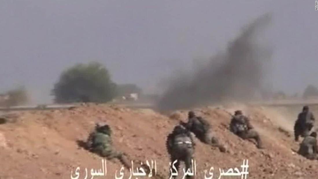 Russia bombards Raqqa, ISIS headquarters in Syria