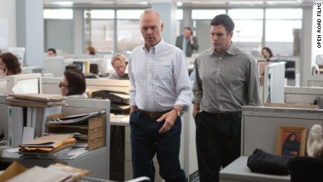 "Michael Keaton and Mark Ruffalo are among the stars of ""Spotlight,"" about the Boston Globe's role in tackling the story of child abuse by priests in Boston."