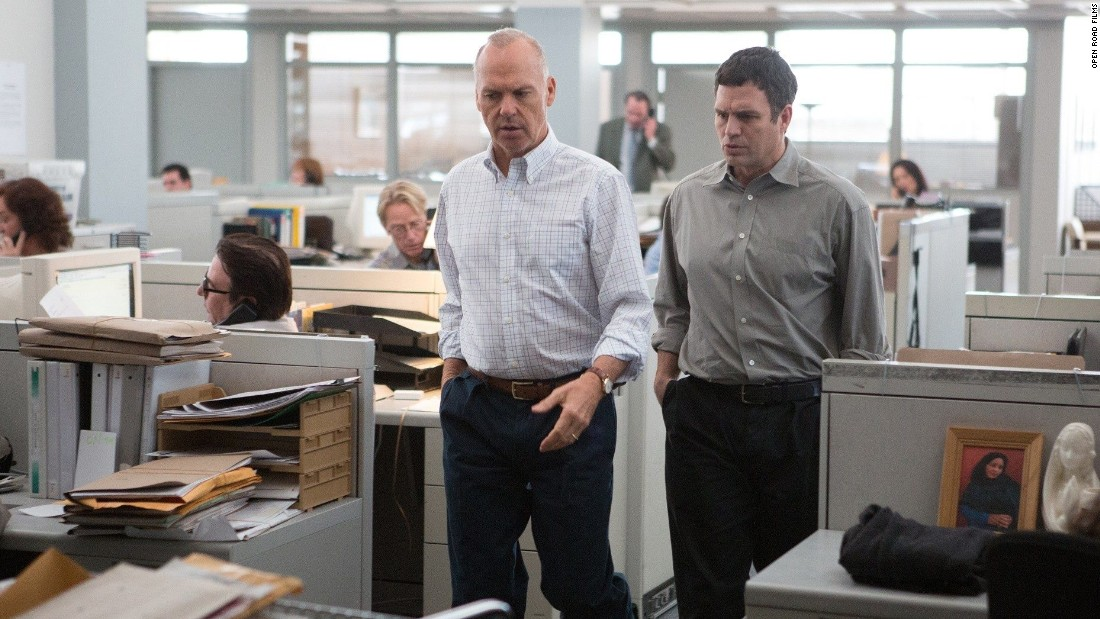 "Michael Keaton and Mark Ruffalo are among the stars of <strong>""Spotlight,""</strong> about the Boston Globe's role in tackling the story of child abuse by priests in Boston. The film opened in limited release November 6 and has done well as it goes wider."