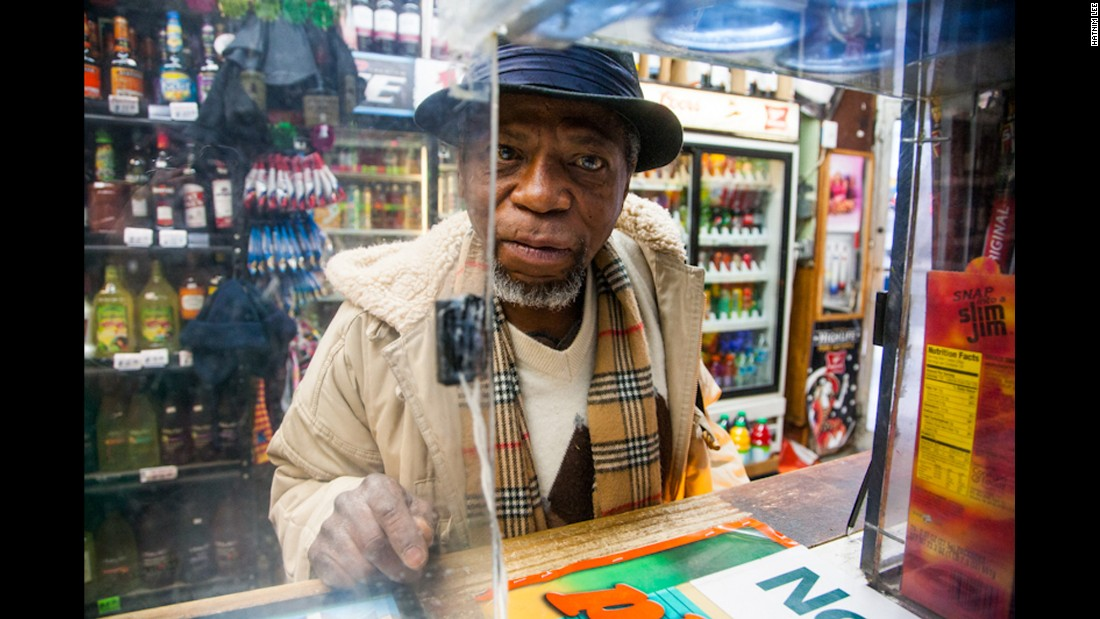 'The other side of the glass': Portraits in a liquor store
