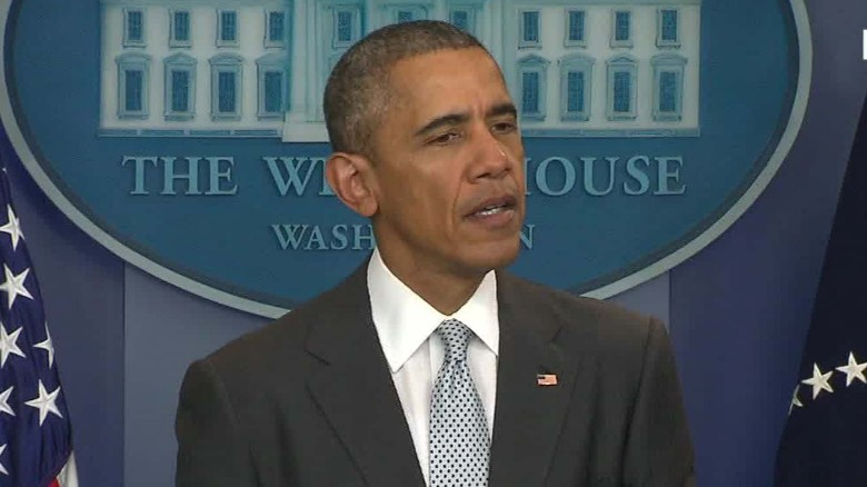 Obama: Paris attacks 'an outrageous attempt' for terror
