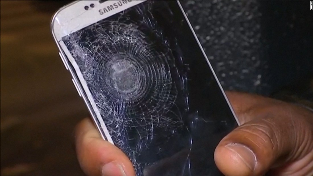 Attack survivor: Cell phone saved me