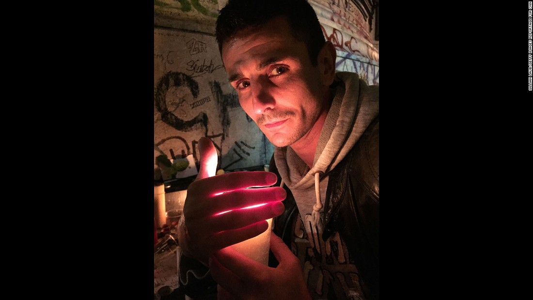 """I came here with all my friends tonight. I am in shock. I never saw Paris like this,"" said Masseau, 36. He was attending a vigil at La Republique. ""We are in a state of emergency. It's a kind of civil war. I have felt this coming on for a long time and now it's been confirmed. I am worried that some politicians are going to use this for their own profits and create more hatred."""
