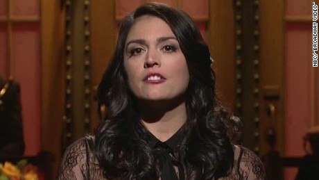 snl tribute france terror attacks cecily strong sot _00003310.jpg