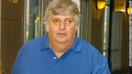 Vincent Margera left a Jefferson County courtroom Wednesday morning after being advised of sex assault charges against him. Margera, known as Uncle Don Vito on a MTV television program, was represented in court by attorney Pamela Mackey, left. His next court appearance will be next week and a judge ordered that he remain in Colorado until that next appearance. (DENVER POST STAFF PHOTO BY KARL GEHRING)  (Photo By Karl Gehring/The Denver Post via Getty Images)