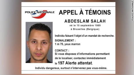 Paris attacks: International manhunt for French suspect whom police let go