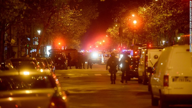 Timeline of terror: Paris under attack