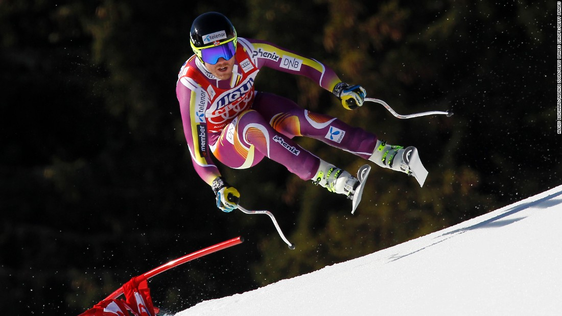 Jansrud was a latecomer to the slopes, not taking up the sport until the age of seven when his parents relocated from Oslo to near Lillehammer, which hosted the 1994 Winter Olympics.