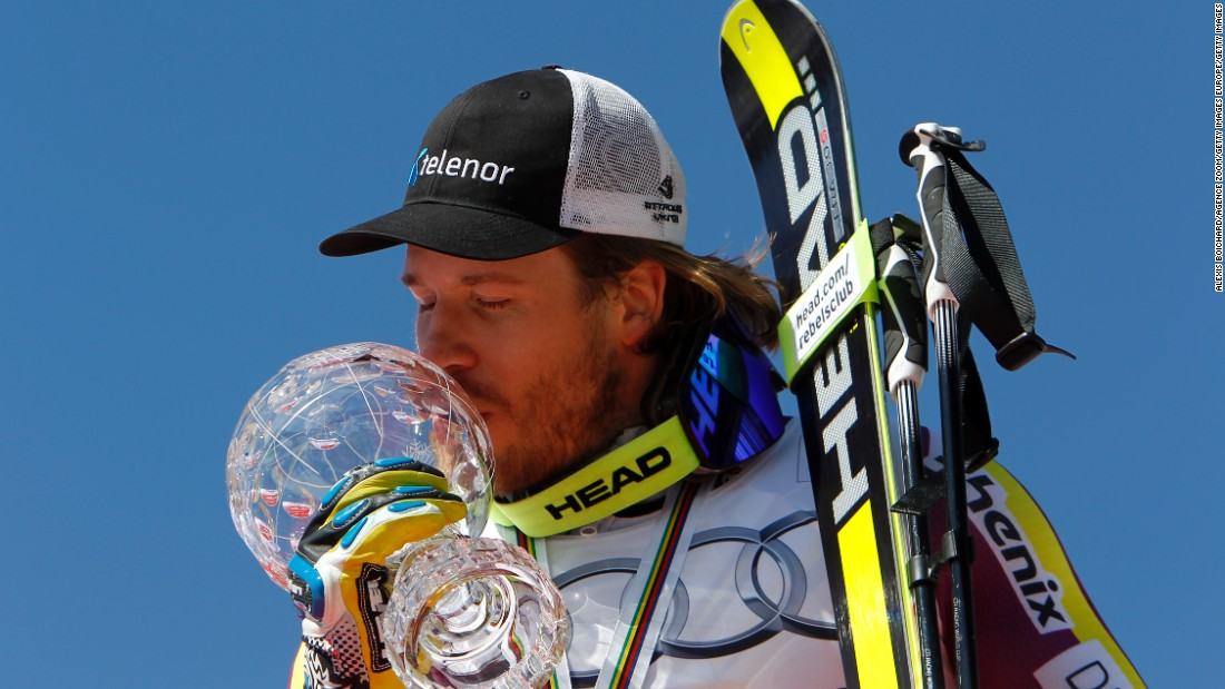 The 30-year-old describes the end-of-season World Cup globes as the ultimate accolade for the planet's best skiers.