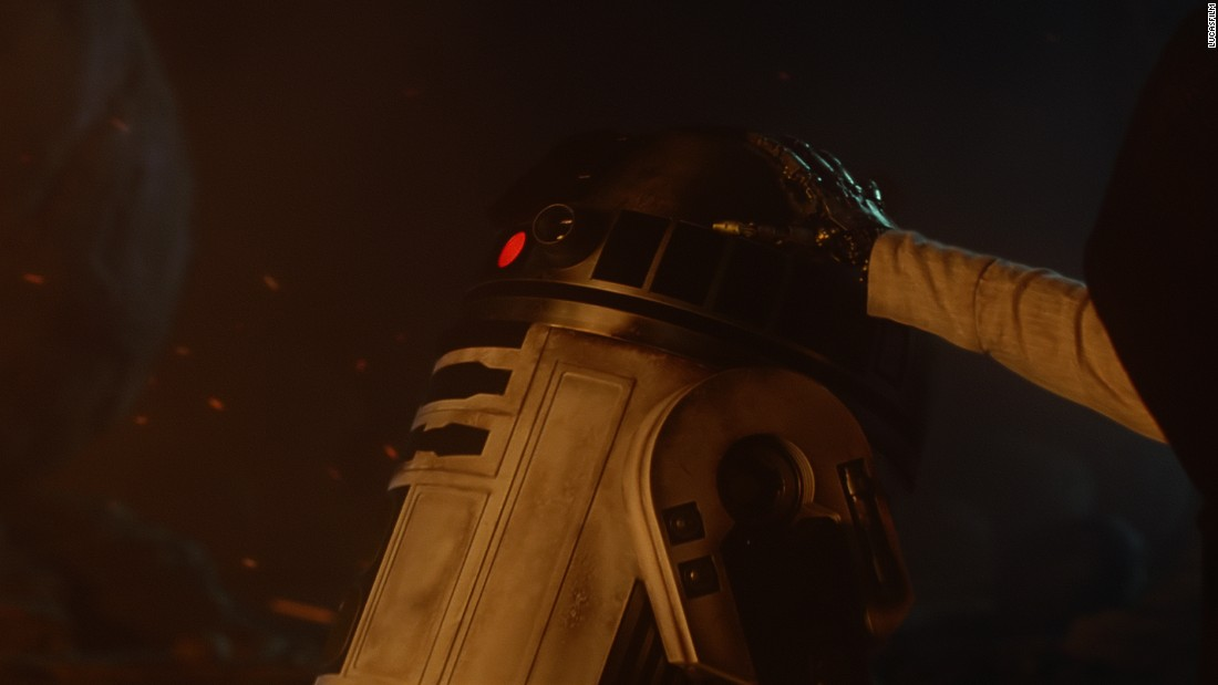 "And that's the big one, folks. Luke has been notably absent from pretty much all ""The Force Awakens"" promotional material, even though the image above, from the official trailer, appears to show his famous robotic hand. Where are you, Luke? Have you turned to the Dark Side? Are you in hiding because you're the last Jedi? We'll soon find out, but the mystery runs deep: The fate of the galaxy might once again be in the hands of Luke Skywalker."