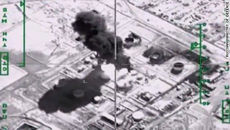 Russia steps up airstrikes against ISIS