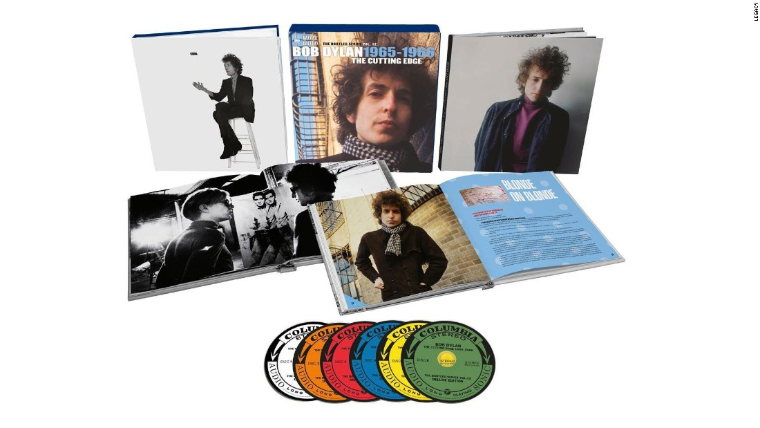 "There are three versions of ""The Cutting Edge,"" the collection of Bob Dylan material from 1965-66: a two-CD ""Best of,"" a six-CD ""Deluxe Edition,"" above, and an 18-CD ""Collector's Edition"" that includes every single track from every recording session he did for ""Bringing It All Back Home,"" ""Highway 61 Revisited"" and ""Blonde on Blonde."" The latter costs $599. That's Maximum Bob. (For those who want to maximize their Maximum, Criterion is releasing <a href=""https://www.criterion.com/films/28655-dont-look-back"" target=""_blank"">a new version of ""Don't Look Back,""</a> too.)"