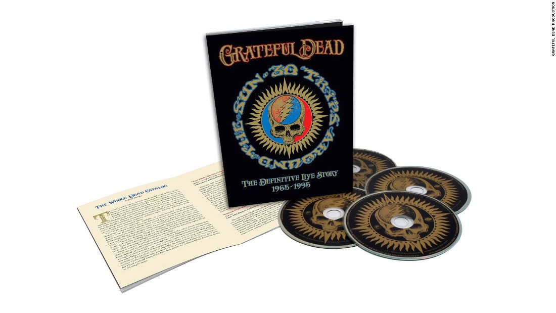 "Deadheads take their Grateful Dead seriously, and the band, which reunited for a set of 50th-anniversary concerts this year, likes to reciprocate. Some fans have probably already shelled out for the sold-out ""30 Trips Around the Sun,"" which has 80 discs of live performances; others can purchase a four-disc version, above."