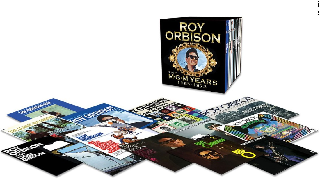 Roy Orbison may have had his biggest hits with Monument Records, but in 1965, he departed for MGM. Though he had some hits with the label, changing musical tastes and personal tragedy -- he lost his wife in a motorcycle accident and two sons in a house fire -- took their toll, and most of the works have been forgotten. A new box collects his 13 albums and adds a set of singles and B-sides.