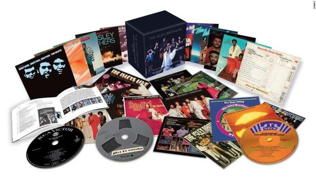 "The Isley Brothers can trace their career to the late '50s. Though initially contracted to other labels, the band formed its own label, T-Neck, in the mid-'60s and eventually moved to it themselves. ""The RCA Victor and T-Neck Album Masters"" compiles all their albums for those labels -- 23 discs in all."