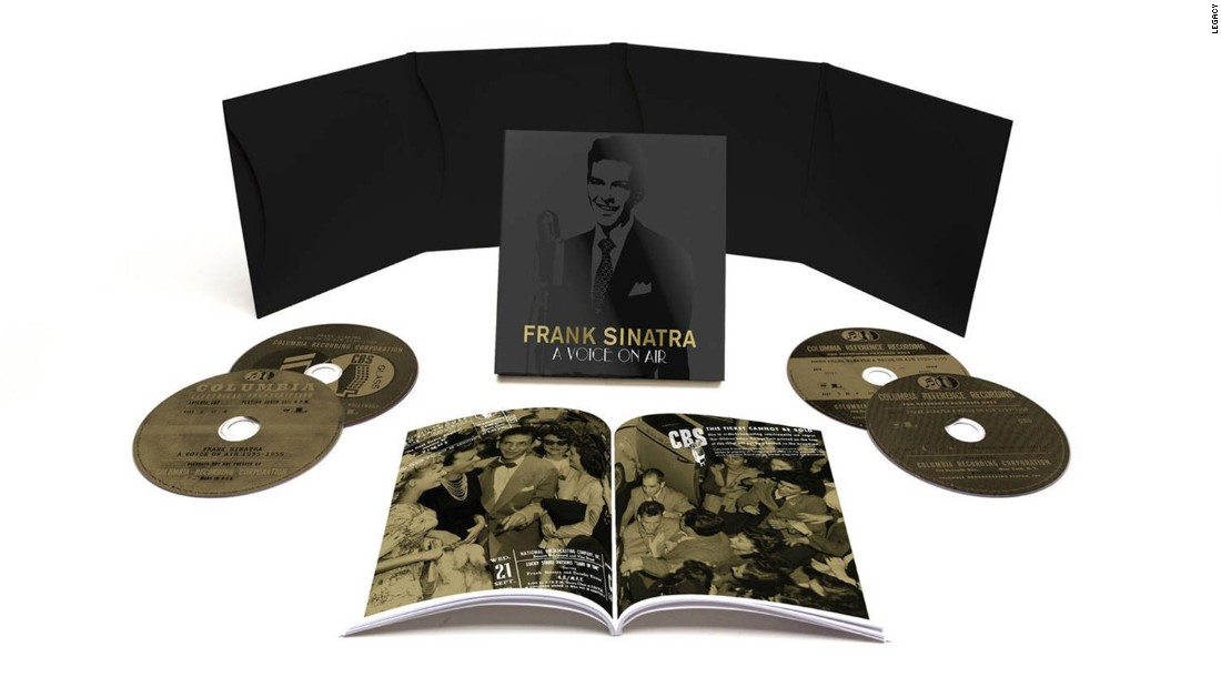 "This year marks the centennial of Frank Sinatra's birth, and his record labels are clamoring to release compendiums of his work. Legacy's Columbia division, where he started his career, has ""A Voice on Air 1935-1955,"" featuring his radio work on four CDs; Capitol, where he spent his middle years, puts together material from his entire career on ""Ultimate Sinatra,"" also four CDs."