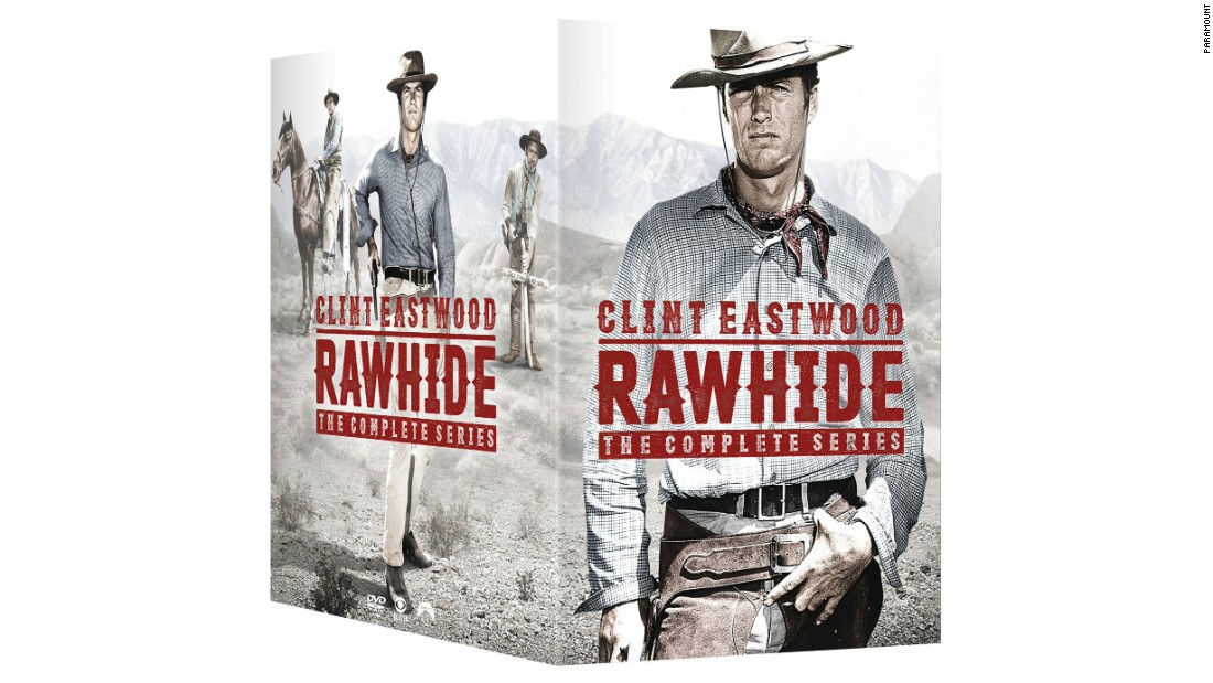 "Nowadays, Clint Eastwood is thought of as a movie star and director, the guy who made ""Dirty Harry,"" ""Unforgiven"" and ""Million Dollar Baby."" But in the early '60s, he was a TV star, playing Rowdy Yates on the Western ""Rawhide."" ""Rawhide: The Complete Series"" collects all eight seasons and 217 episodes on 59 discs."