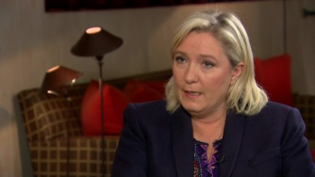 france far right party leader marine le pen on refugee crisis and paris attacks intv gorani wrn_00010315