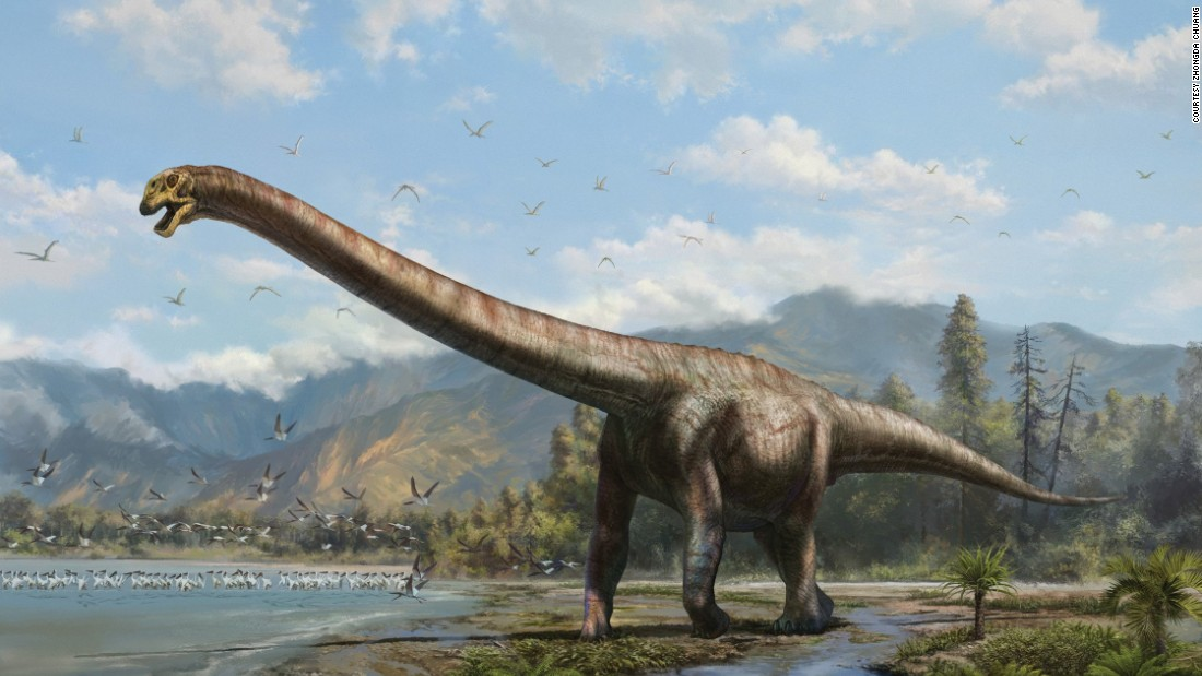 "Paleontologists discovered a 50-ft ""dragon"" dinosaur species in 2006 in southwestern China's Chongqing. The species is thought to have roamed the earth 160 million years ago in the Late Jurassic period."