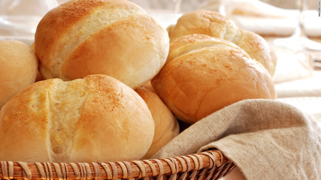 A dinner roll typically has about 90 calories. It might not feel like exercise, but 30 minutes of cooking can make those calories melt away.