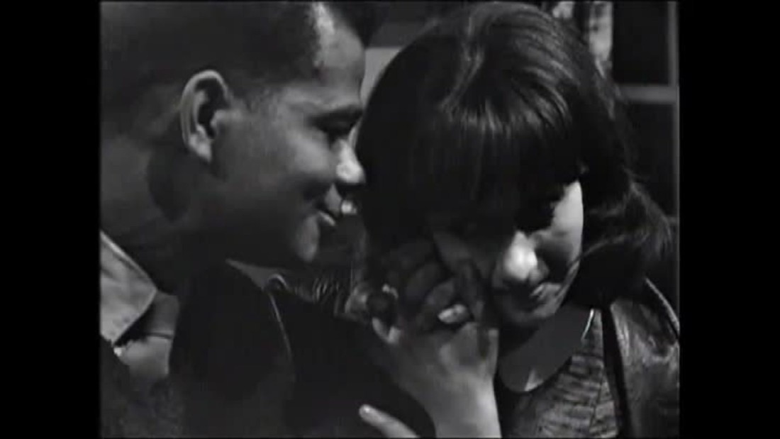 Uncovered footage reveals TV's 'first' interracial kiss, long before Star Trek