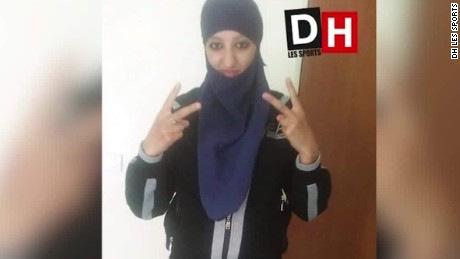 Abdoullah C. is believed to have had several contacts with Hasna Ait Boulahcen, who died in a police siege in the Paris suburb of Saint-Denis on November 18.
