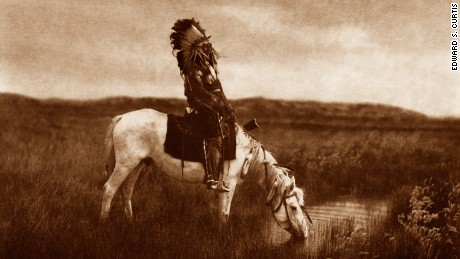 Historic images show Native American way of life
