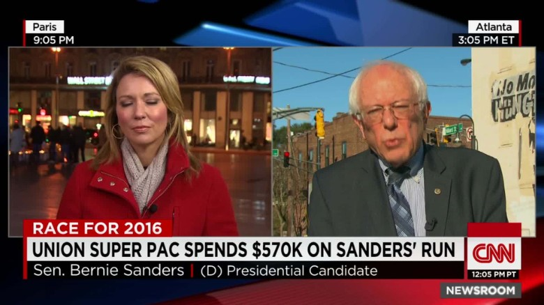 Sanders: I will not raise a nickel for a super PAC