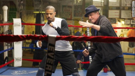 """Creed"" stars Michael B. Jordan and Sylvester Stallone in a continuation of the ""Rocky"" series."