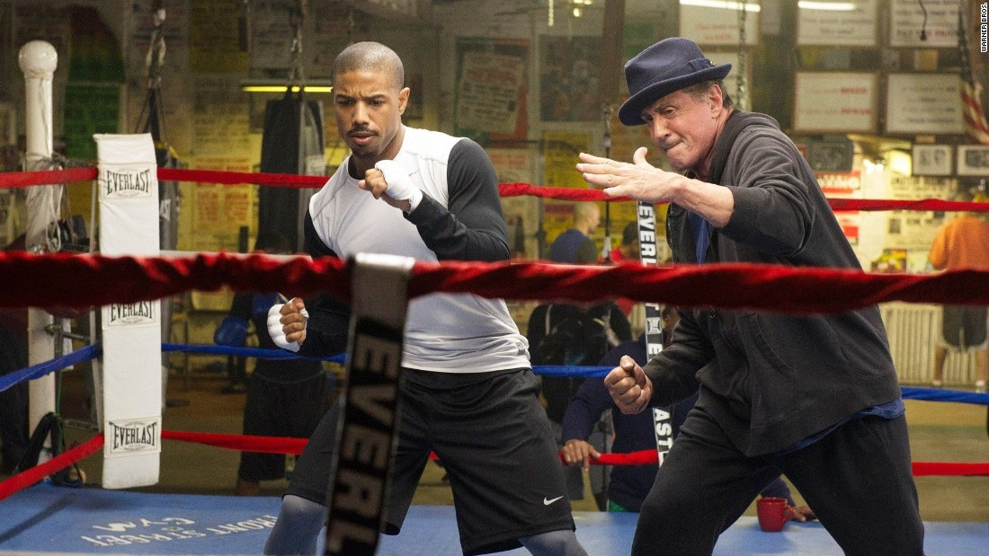 "Don't count out <strong>""Creed""</strong> when it comes to some Oscar races. The film has earned rave reviews and talk of nominations. Michael B. Jordan and Sylvester Stallone star in a continuation of the ""Rocky"" series. It opens November 25."