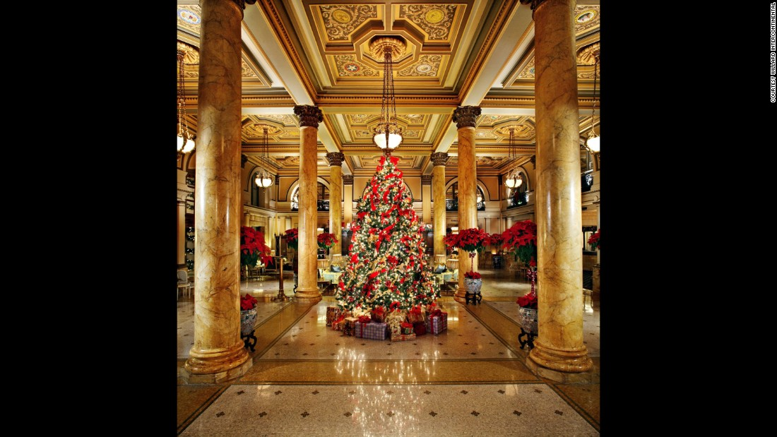 Hotels at Christmas 10 that go allout for the holidays  CNN Travel