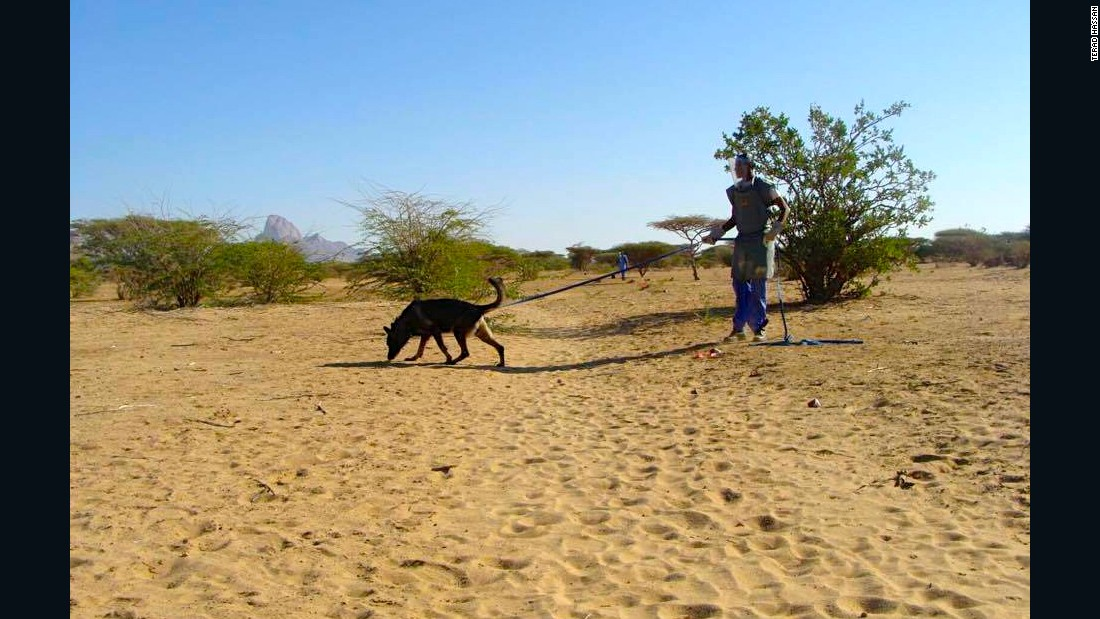 Landmines are a significant problem in Sudan, and have caused more than 2000 casualties since 2002.