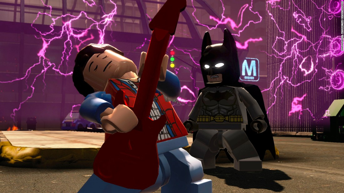 "This new Lego game mashes up characters from 14 different franchises, including DC Comics, ""The Lord of the Rings"" and ""Back to the Future,"" letting you create bold new partnerships. Think Marty McFly will give Batman guitar lessons? List price: $99.99."