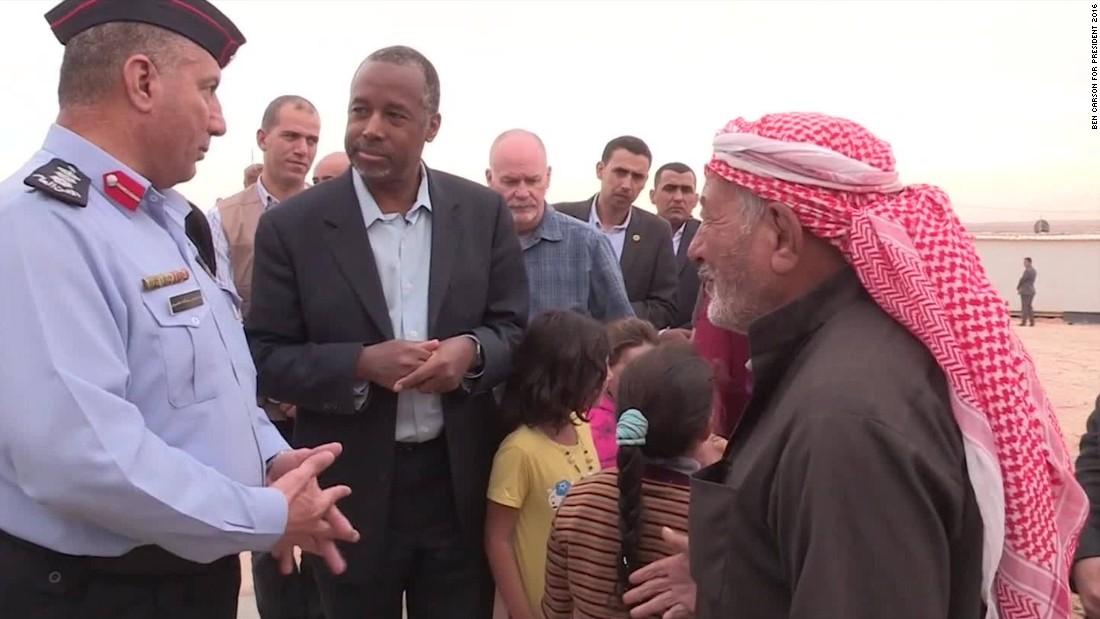 Ben Carson: Refugees want to stay in Syria