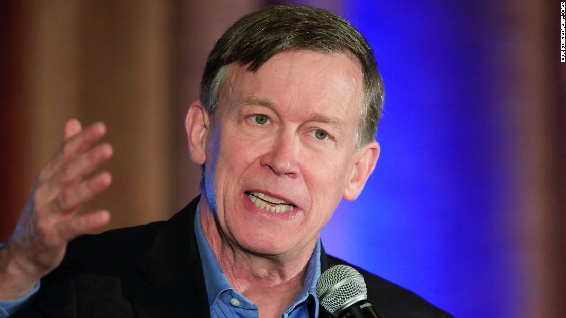 Colorado Gov. John Hickenlooper