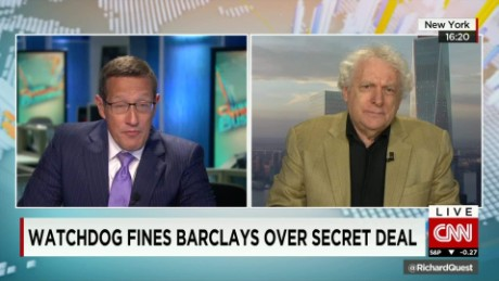 exp Jeffrey Robinson, author, The Laundrymen, discusses Barclays watchdog fine_00002001