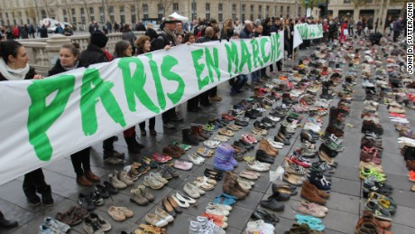 Climate protests around the world