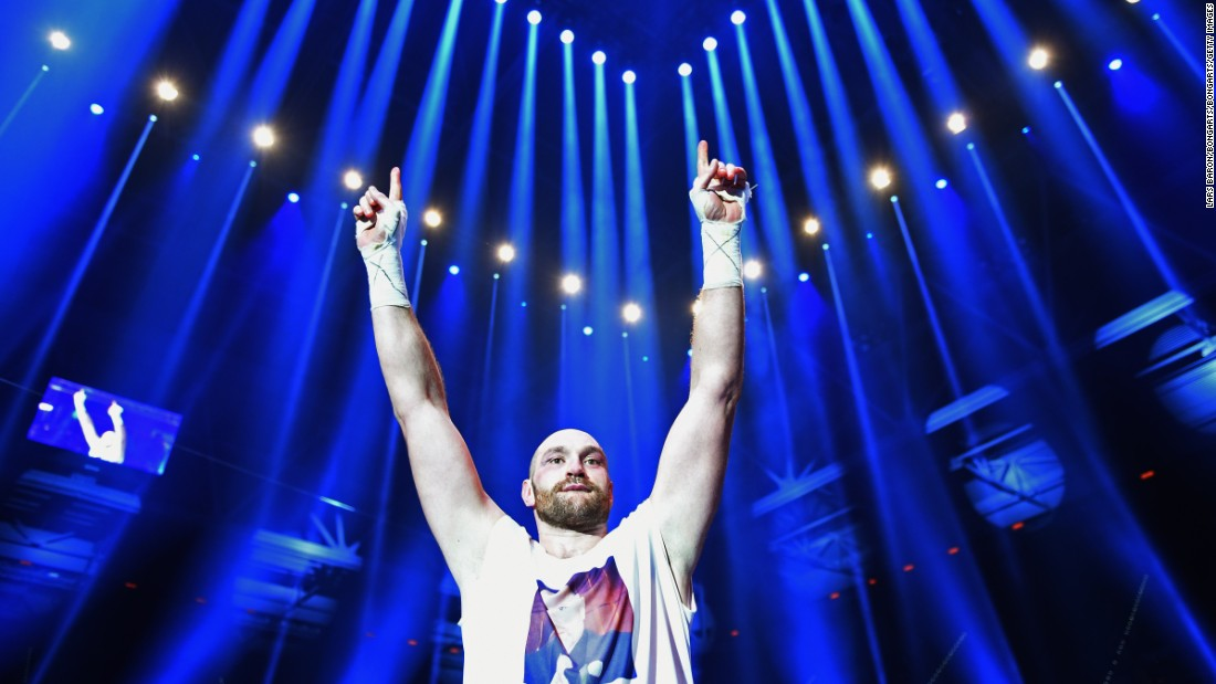 Fury celebrated his win in Dusseldorf, Germany, but was stripped of the IBF belt 10 days later due to a rematch clause in his contract with Klitschko which prevented him facing the organization's mandatory challenger.