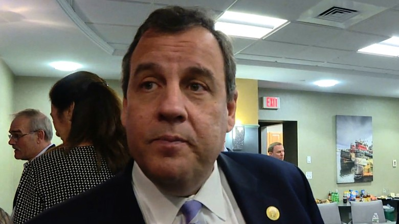 Christie 'really excited' to have newspaper endorsement