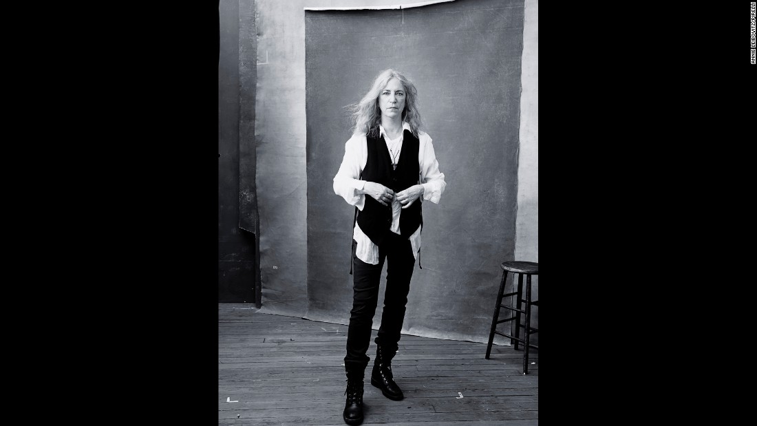 Singer Patti Smith was among the women photographed by Annie Leibovitz.
