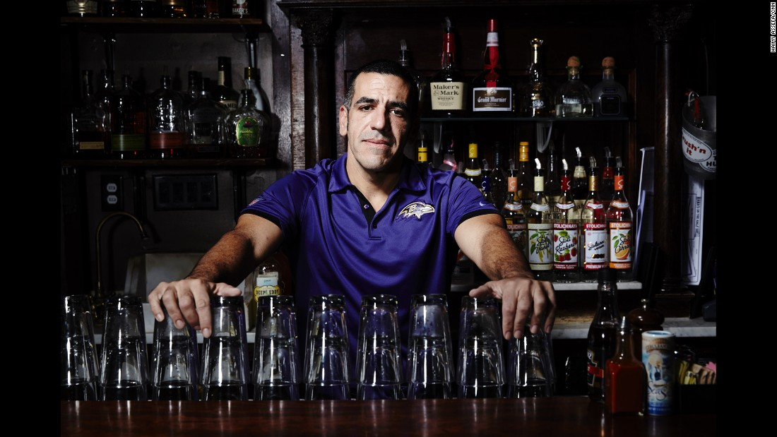 "A bartender at restaurant in the Canton neighborhood of Baltimore, Lincoln Kosman remembers the days after the riots. During the citywide curfew, Kosman said residents looked out for each other, and people checked on their neighbors. ""It's affected the city in a good way,"" he said. ""People have come together."" While the spotlight remained on Baltimore, Kosman said, ""I really hope that we show we're a good city. I hope we do ourselves proud now that everyone is watching."""