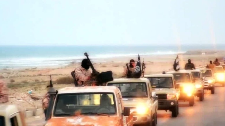 Is ISIS building a base in Libya?