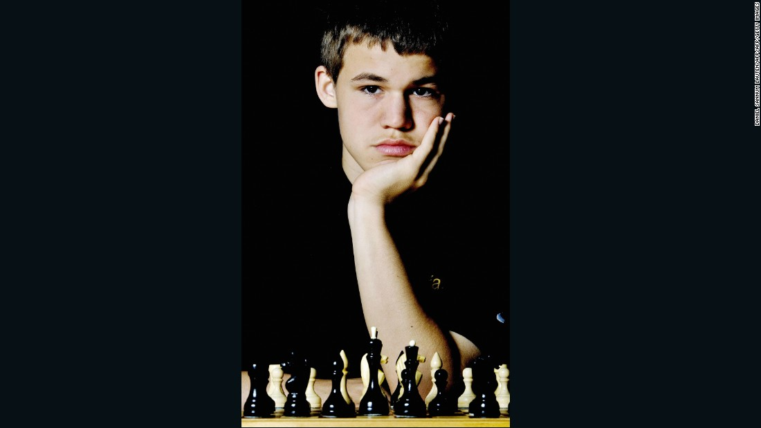 By the age of 16, Carlsen was already ranked 17th in the world.