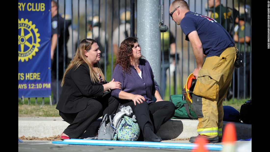 At least 14 people killed in shooting in San Bernardino; suspect identified
