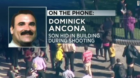 San Bernardino shooting: Dad texts son to barricade door