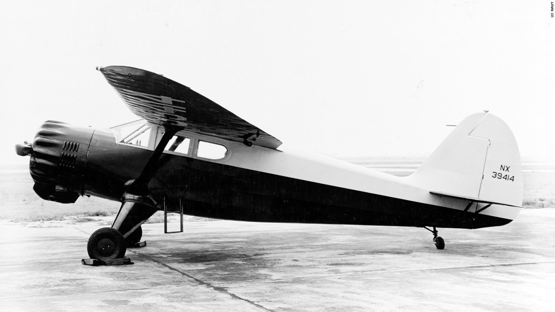 This U.S. Navy photo shows a Stinson AT-19 Reliant in younger days. A team based in Las Vegas is hoping to complete restoration of the CAF's Reliant by summer 2016.
