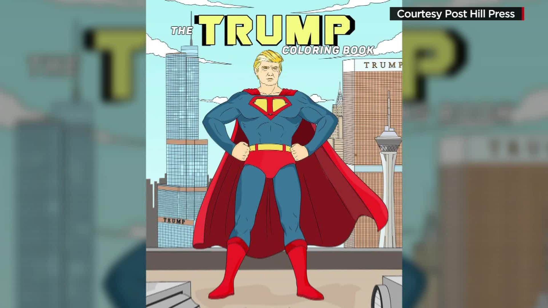 Donald Trump Gets His Own Coloring Book